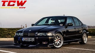 Bmw e36 Static on BBS Wheels Transformation Project by Marian