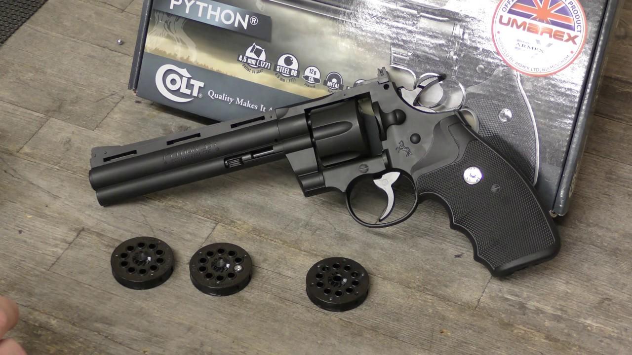 REVIEW: Colt Python - Replica CO2 Pellet Pistol