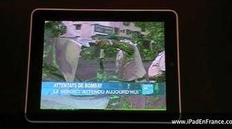 iPad et son écran vert - Green iPad screen