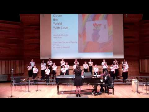 """Cover the World with Love"" - Rutgers Children's Choir - May 11, 2014"