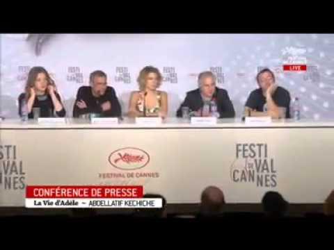 Press Conference in Festival de Cannes 2013