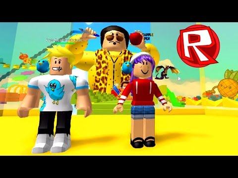 ROBLOX ESCAPE THE PEN PINEAPPLE APPLE PEN OBBY | PPAP FUN | RADIOJH GAMES & GAMER CHAD