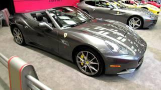 2012 Ferrari California Exterior at 2012 Toronto Auto Show
