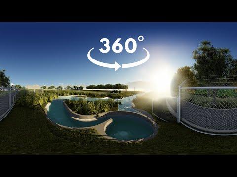 360° Virtual Tour of Two Micro Hydro-Power Sites!