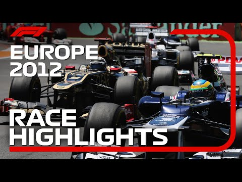 2012 European Grand Prix - Race Highlights