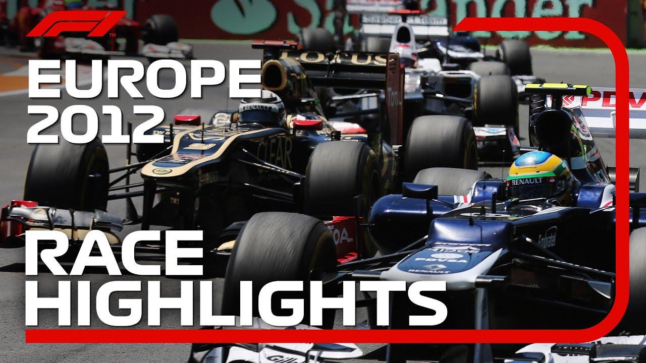 Download 2012 European Grand Prix - Race Highlights