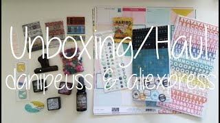 Unboxing/Haul - danipeuss.de, aliexpress.com & eine Happymail
