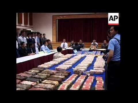 Police seize millions of amphetamine pills, arrest suspect