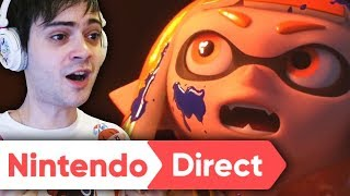 RÉACTION NINTENDO DIRECT MARS 2018 ! SMASH BROS, CAPTAIN TOAD, SPLATOON ?!