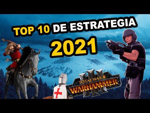 TOP 10 JUEGOS de ESTRATEGIA que SALDRÁN en 2021