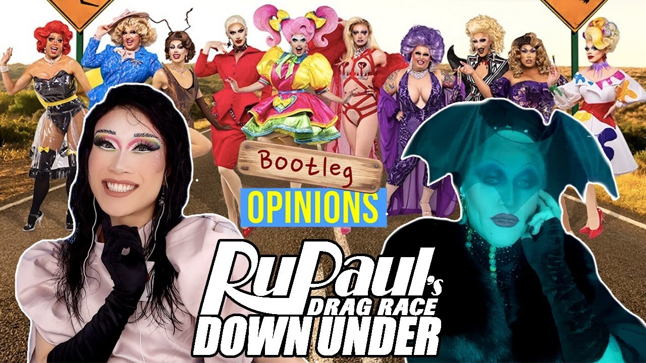 """Joe Black joins Drag Race Down Under x Bootleg Opinions: Episode 7 """"How's Your Headpiece?"""""""