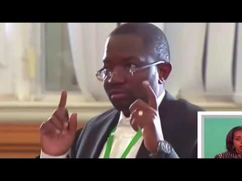 Chamisa's lawyer Advocate Thabani Mpofu Presents :Zimbabwe Presidential Election Con-Court Challenge