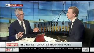 Senator Paterson talks religious freedom on Sky News