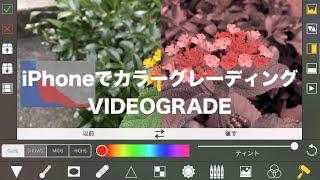 iPhoneでプロ顔負けのカラーグレーディングが可能!『VIDEO GRADE』をレビュー