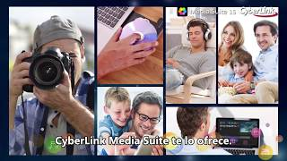 Presentamos Media Suite 15 | CyberLink