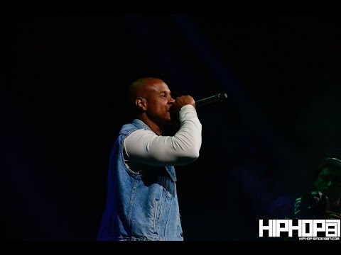 "Meek Mill performs his ""Pound Cake"" freestyle with Spade-O at PowerHouse 2013"
