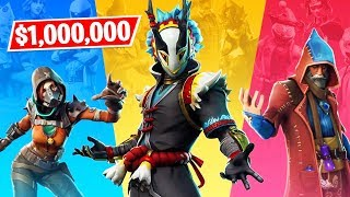 Fortnite TRIOS CASH CUP $1,000,000 Tournament LIVE! (Fortnite Battle Royale)