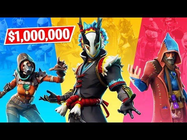 Fortnite TRIOS CASH CUP $1,000,000 Tournament LIVE! (Fortnite Battle Royale)