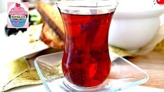 DIY: Zubereitung von türkischem Schwarztee - cay kochen - türkischer Tee - Cay Zubereitung