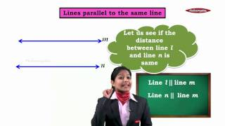 Parallel Line Lesson – Maths Lecture - Std 8 INK Online Tuitions / Classes