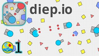 Diep.io is as much fun as Agar.io!! Let's Play!!