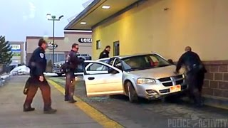 Tooele Police Rescue Trapped Driver At McDonald