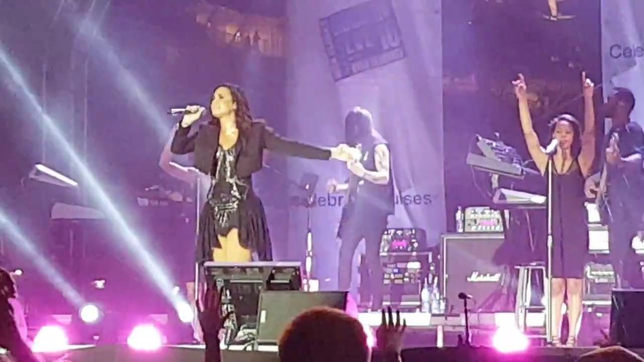 Demi Lovato Lionheart   Live From St. Maarten, Celebrity Cruises Concert