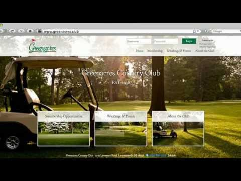 Some Golf & Country Clubs That Use .CLUB Domain Names
