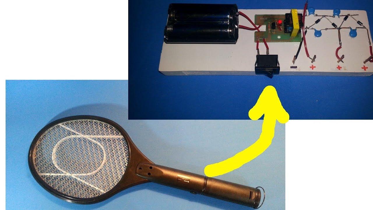 Tutorial c mo hacer una fuente de alto voltaje a partir - Lampara mata mosquitos ...