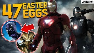 IRON MAN 2 (2010) - 47 Secretos, Referencias, Cameos y Easter Eggs de la película!! Luineitor!