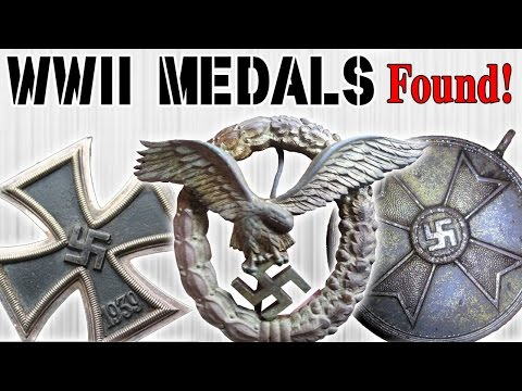 Pile Of WW2 Medals Found!