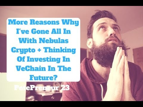 More Reasons Why I've Gone All In With Nebulas Coin | VeChain Future Investment? | PetePreneur 23