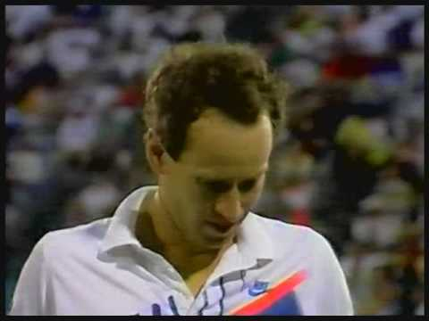 Sampras teaches McEnroe a lesson
