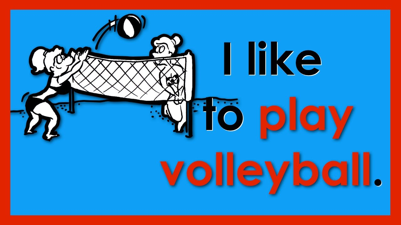 I like to    | Sports Vocabulary | Easy English Conversation Practice | ESL