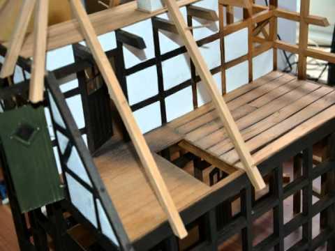 wir basteln ein fachwerkhaus youtube. Black Bedroom Furniture Sets. Home Design Ideas