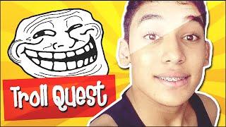 COMO SER TROLLADO POR UM JOGO ! - Trollface Quest
