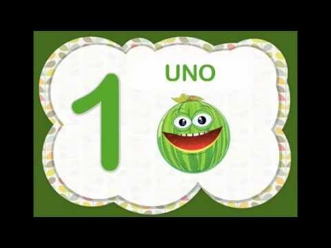 Los Nmeros del 1 al 10 para nios con frutas Video Infantil