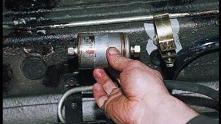 Замена топливного фильтра. ВАЗ 2111, 2112