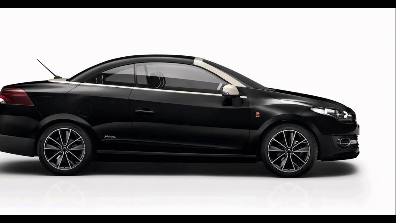2016 renault megane coupe cabriolet diamond black youtube. Black Bedroom Furniture Sets. Home Design Ideas