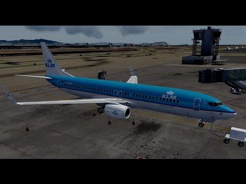 Prepar3D Amsterdam to Barcelona PMDG 737 GTX 1080 SLI i7-6700@4.6 part 1