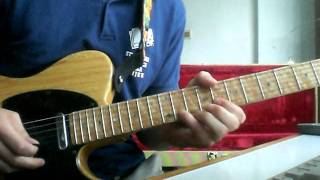 Big guns solo (Rory Gallagher) guitar cover