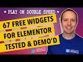 67 Free Elementor Widgets & Elementor Addon Widgets 2018