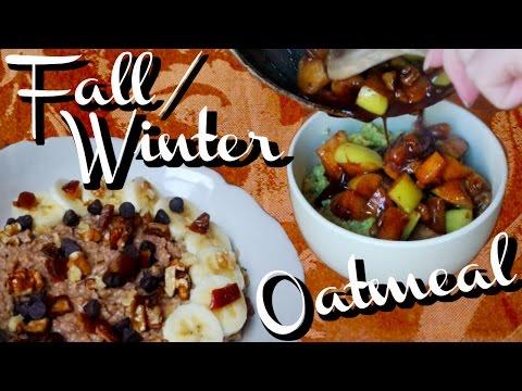 2-healthy-&-vegan-fall-/-winter-oatmeal-recipes
