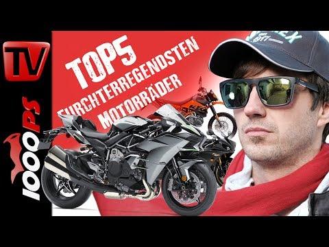 Top 5 - Furchterregendsten Motorräder