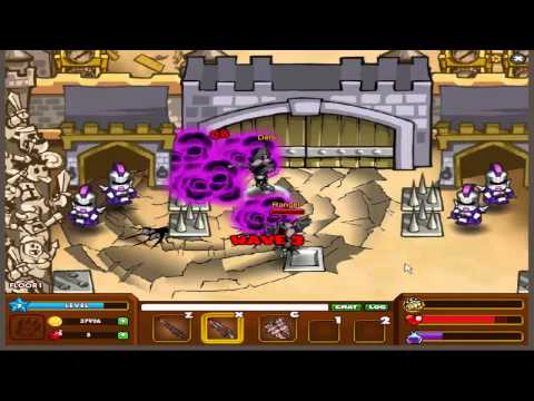 Dungeon rampage Dragon Knight 1 ep ft  Rangel