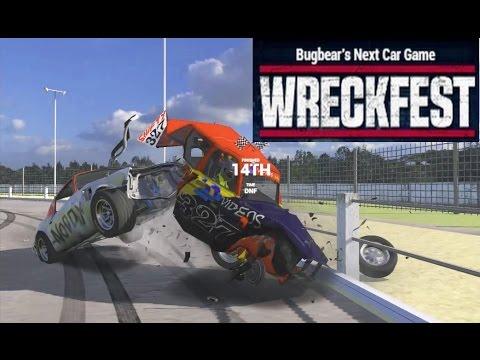 Wreckfest: Banger Racing Crashes With Gildo #5. Modded