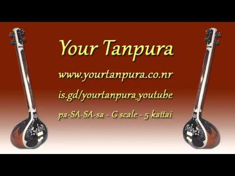 Your Tanpura - G Scale - 5 kattai