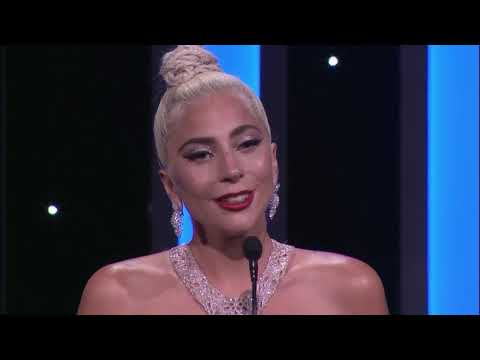 "Lady Gaga's speech at the ""American Cinematheque Gala"" honoring Bradley Cooper"