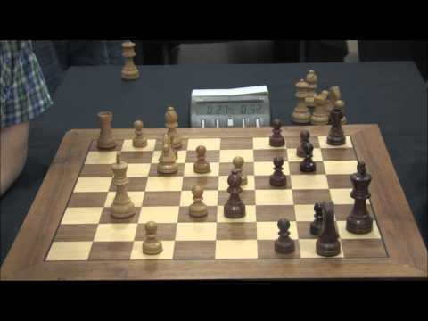 Michael Adams vs. Daniel Gormally, Scottish Blitz Chess Championship 2013
