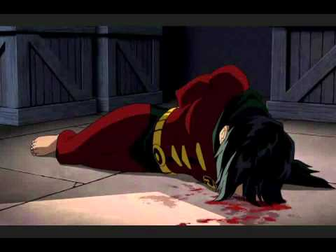 "Robin's Death From ""Batman: Under The Red Hood"""